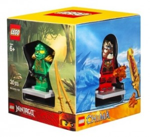Target 2014 Holiday Exclusive LEGO Minifigure Gift Set (Super Heroes Man, Ninjago, Chima, City) - Toysnbricks