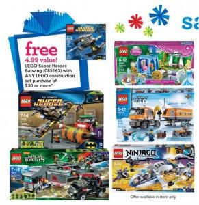 ToysRUs USA Store LEGO Promotion November 2014