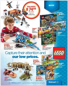 Walmart 2014 LEGO Sale Holday Book USA