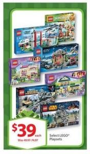 Walmart USA Pre LEGO Black Friday 2014 Deals November