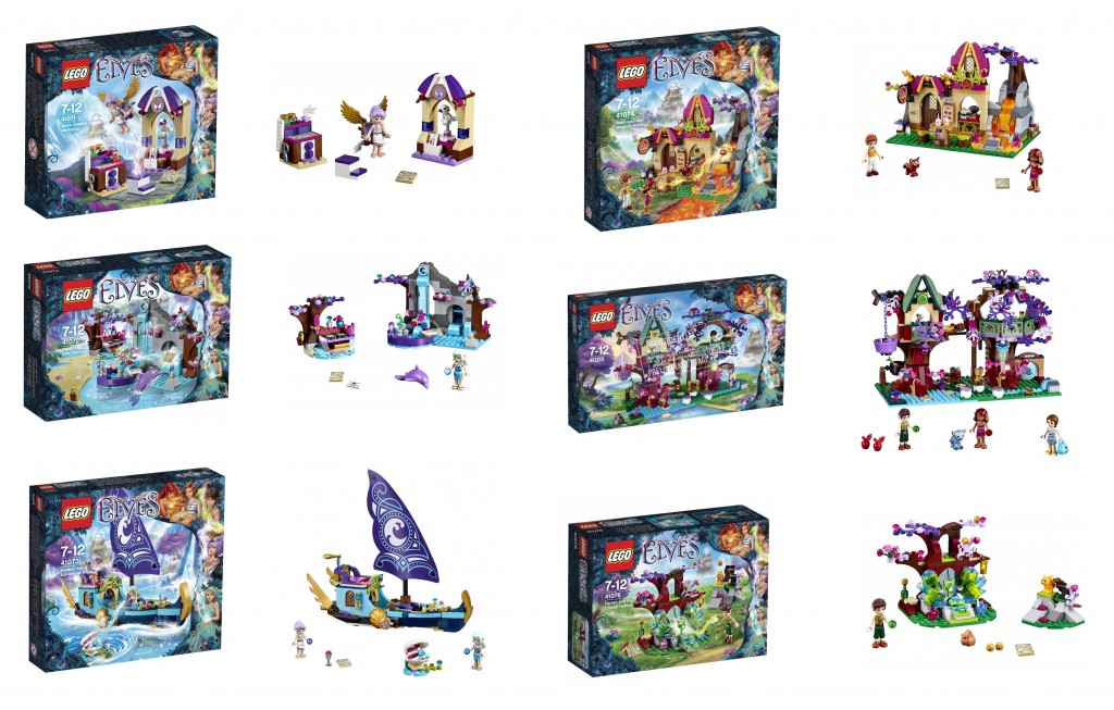 2015 LEGO Elves 41076 41075 41074 41073 41072 41071 Set Pictures