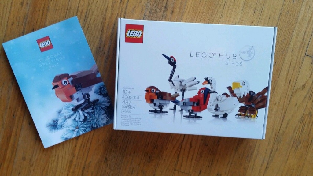 4002014 LEGO Hub Birds (LEGO Employee 2014 Gift Set)