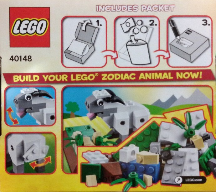 40148 LEGO Creator Year of the Sheep Chinese New Year 2015
