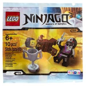 5002144 LEGO Ninjago Dareth vs. Nindroid Polybag - Toysnbricks