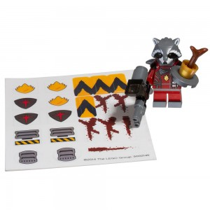 5002145 LEGO Marvel Super Heroes Guardians of The Galaxy Accessory Pack Rocket Raccoon - Toysnbricks