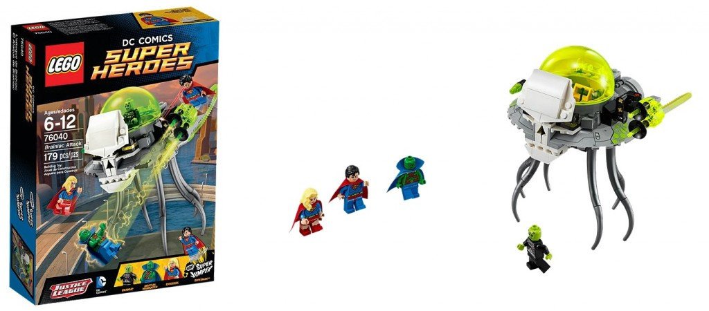 LEGO 76040 DC Super Heroes Brainiac Attacks - Toysnbricks