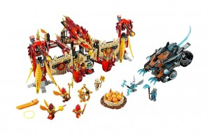 LEGO Chima Flying Phoenix Fire Temple  70146 - Toysnbricks