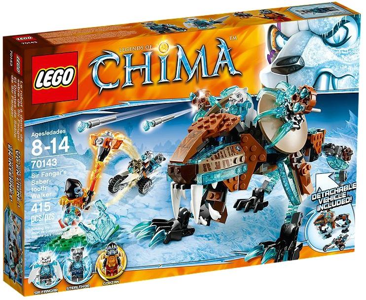 LEGO Chima Sir Fangar's Saber-tooth Walker 70143 - Toysnbricks