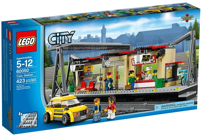 LEGO City Train Station 2014 60050 - Toysnbricks