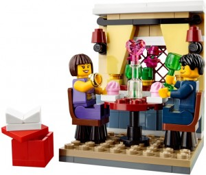 LEGO Creator 40120 Marriage Dinner Proposal (Pre)
