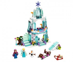 LEGO Disney Princess 41062 Elsa's Sparkling Ice Castle - Toysnbricks