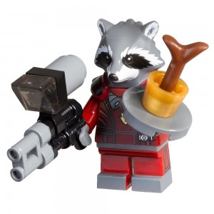 LEGO Marvel Super Heroes Guardians of The Galaxy 5002145 Accessory Pack Rocket Raccoon Minifigure - Toysnbricks