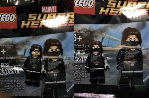 LEGO Marvel Super Heroes Winter Soldier Minifigure Polybag (Pre)