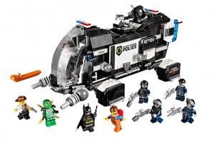LEGO Movie Super Secret Police Dropship 70815 - Toysnbricks
