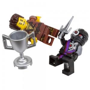 LEGO Ninjago Dareth vs. Nindroid Polybag 5002144 - Toysnbricks