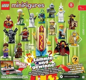 71008 LEGO Series 13 Minifigures (Pre) Poster