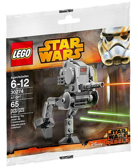 LEGO Star Wars AT-DP Mini 30274 Polybag Set - Toysnbricks