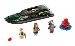 LEGO Super Heroes Marvel Iron Man Extremis Sea Port Battle 76006 - Toysnbricks