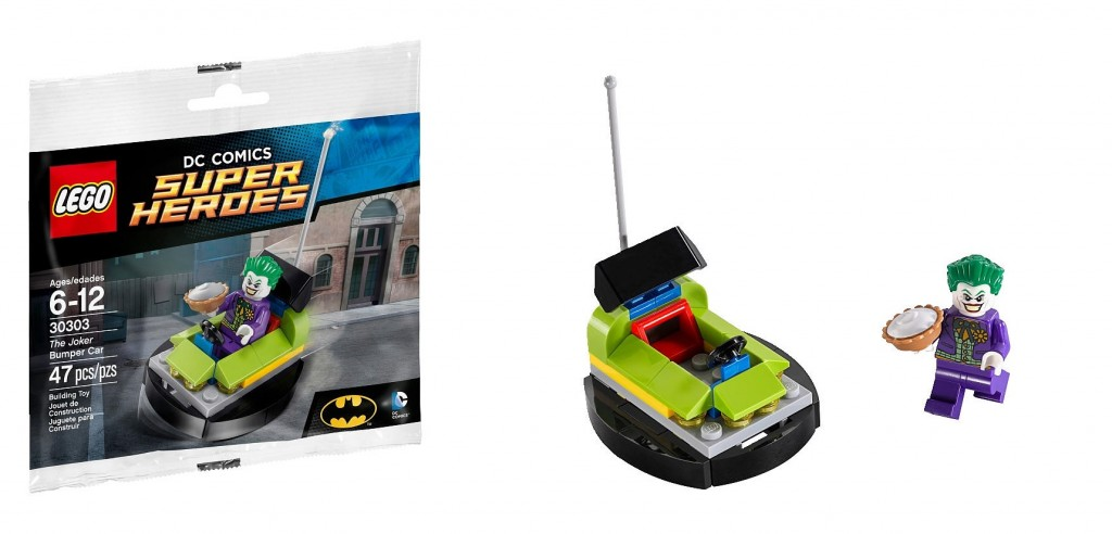 LEGO Super Heroes The Joker Bumper Car 30303 - Toysnbricks