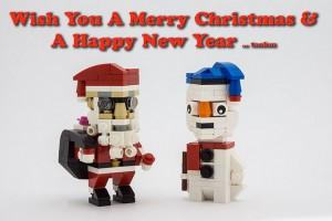 [MOC] Cubedude Santa & Snowman