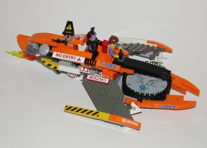 [MOC] Wyldstyle's Flying Super Cycle