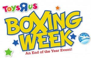 ToysRUs Boxing Week Sale Banner Logo