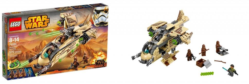 75084 LEGO Star Wars Wookiee Gunship Set 2015 - Toysnbricks