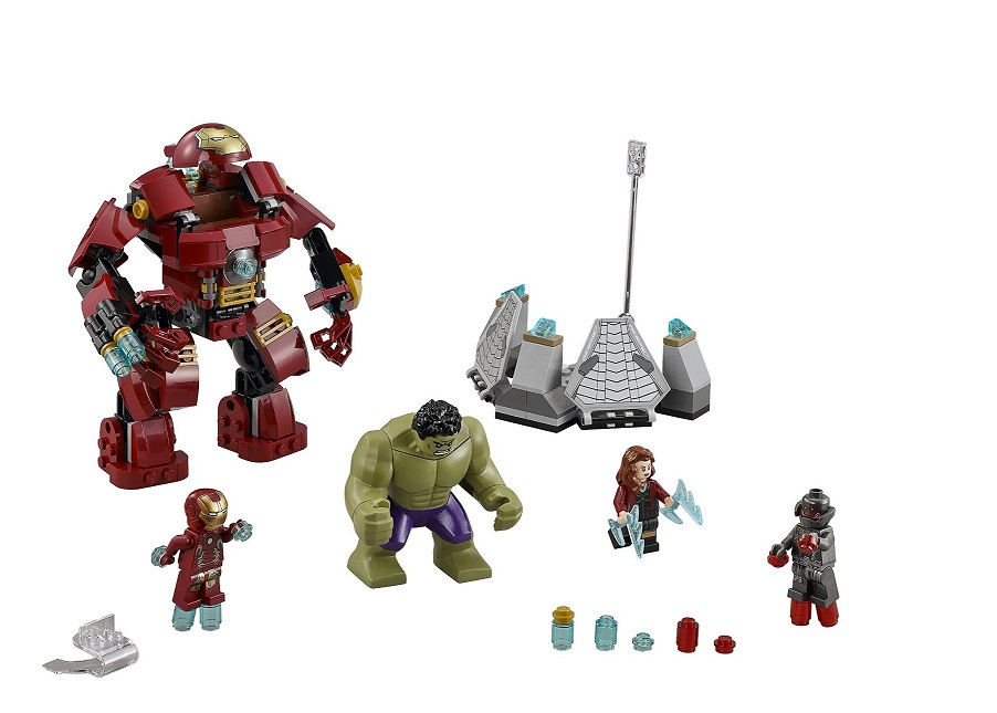 76031 LEGO Marvel Super Heroes 76031 The Hulk Buster Smash- Toysnbricks