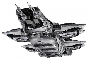 76042 SHEILD Helicarrier LEGO UCS Super Heroes Avengers High Resolution - Toysnbricks