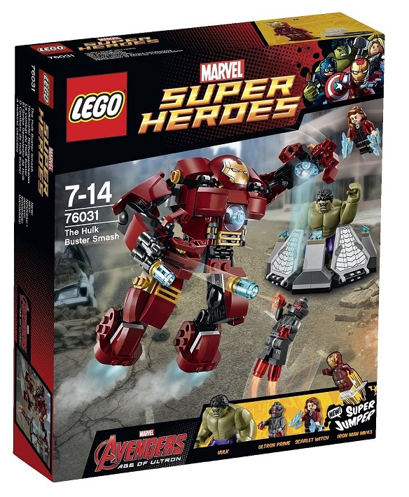 Age of Ultron LEGO Marvel Super Heroes The Hulk Buster Smash 76031 - Toysnbricks