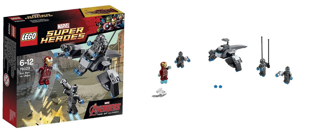 Lego age of ultron avengers marvel super heroes 76029 iron man vs