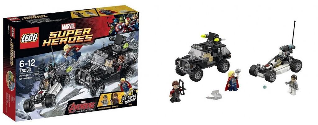LEGO Age of Ultron Marvel 76030 Avengers Hydra Showdown