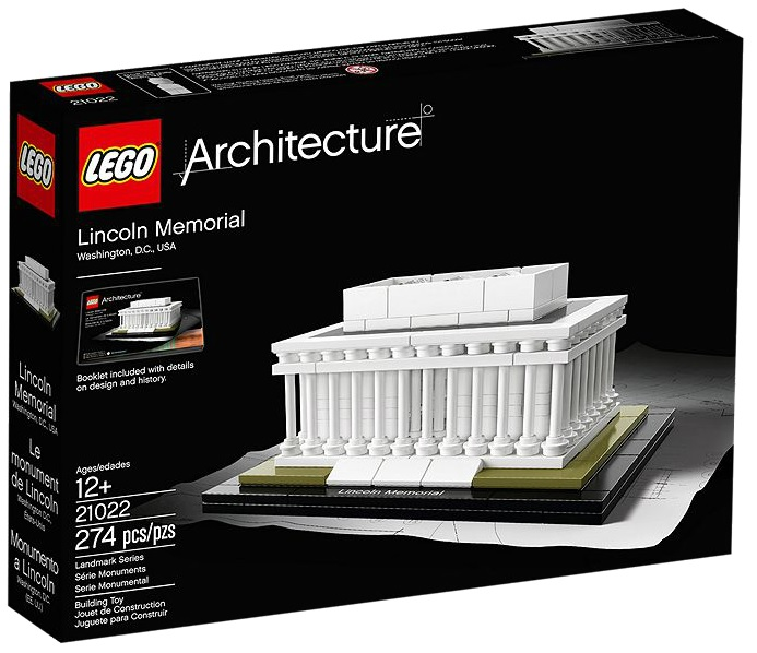 LEGO Architecture Lincoln Memorial 21022 - Toysnbricks