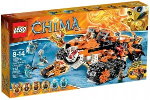 LEGO Chima 70224 Tiger's Mobile Command - Toysnbricks