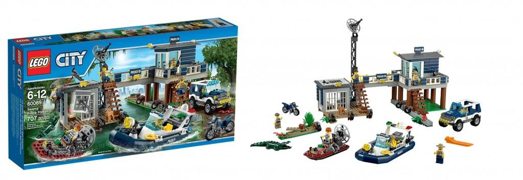 LEGO City 60069 Swamp Police Station - Toysnbricks