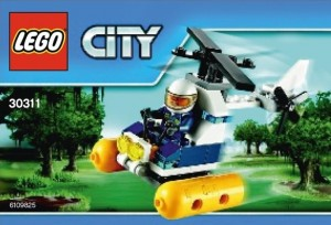 LEGO City Swamp Police Helicopter Polybag Set 30311