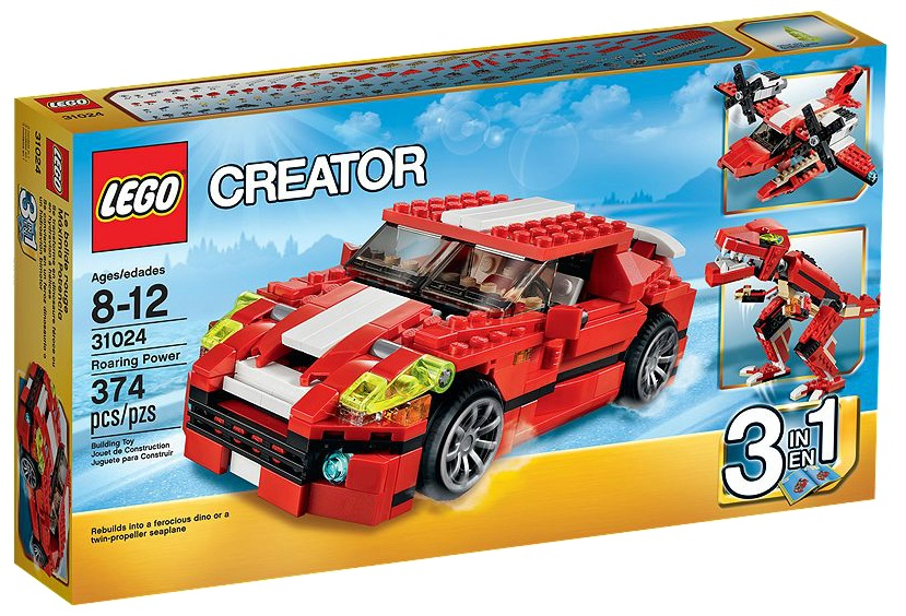 LEGO Creator 31024 Roaring Power - Toysnbricks