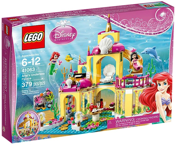 LEGO Disney Princess 41063 Ariel's Undersea Palace - Toysnbricks