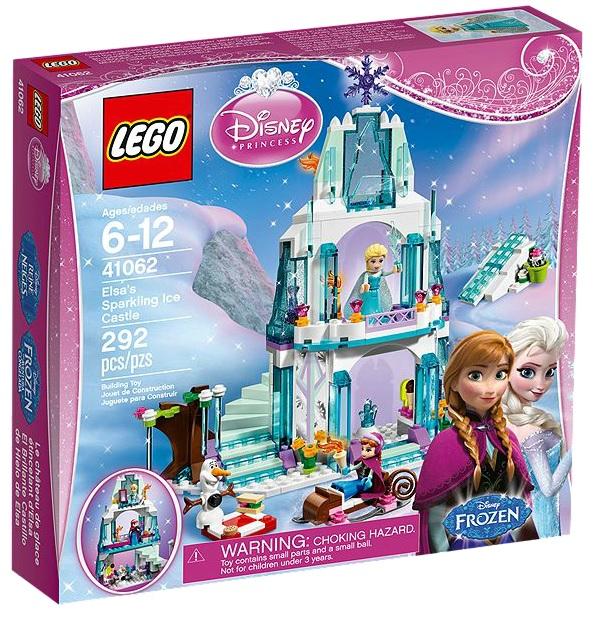 LEGO Disney Princess Elsa's Sparkling Ice Castle - Toysnbricks