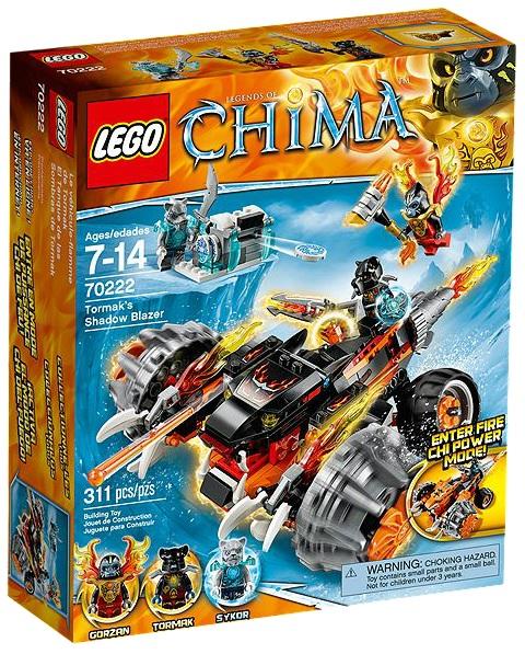 LEGO Legends of Chima 70222 Tormak's Shadow Blazer - Toysnbricks