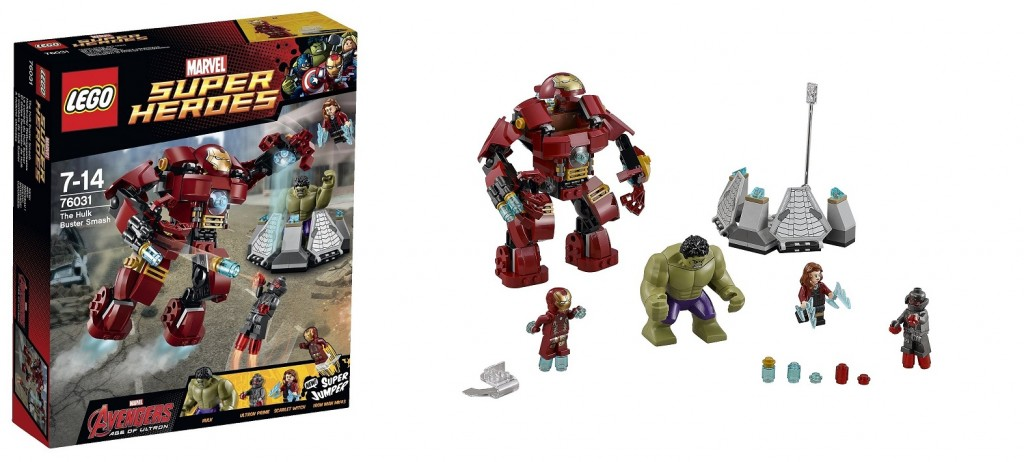 LEGO Marvel Super Heroes 76031 The Hulk Buster Smash Age of Ultron 2015 - Toysnbricks