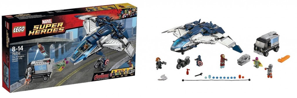 LEGO Marvel Super Heroes 76032 The Avengers Quinjet City Chase