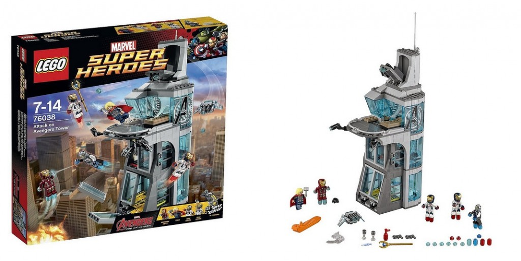 LEGO Marvel Super Heroes 76038 Attack on Avengers Tower