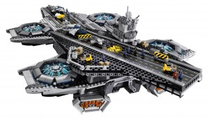 LEGO Marvel Super Heroes 76042 SHEILD Helicarrier High Resolution - Toysnbricks