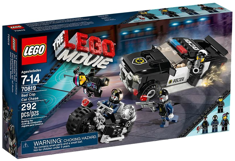 LEGO Movie Bad Cop Car Chase 70819 - Toysnbricks