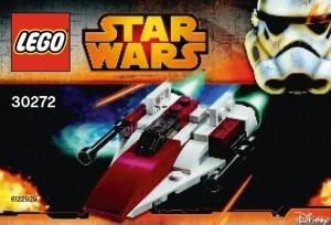 LEGO Star Wars A-Wing Mini 30272 Polybag Set