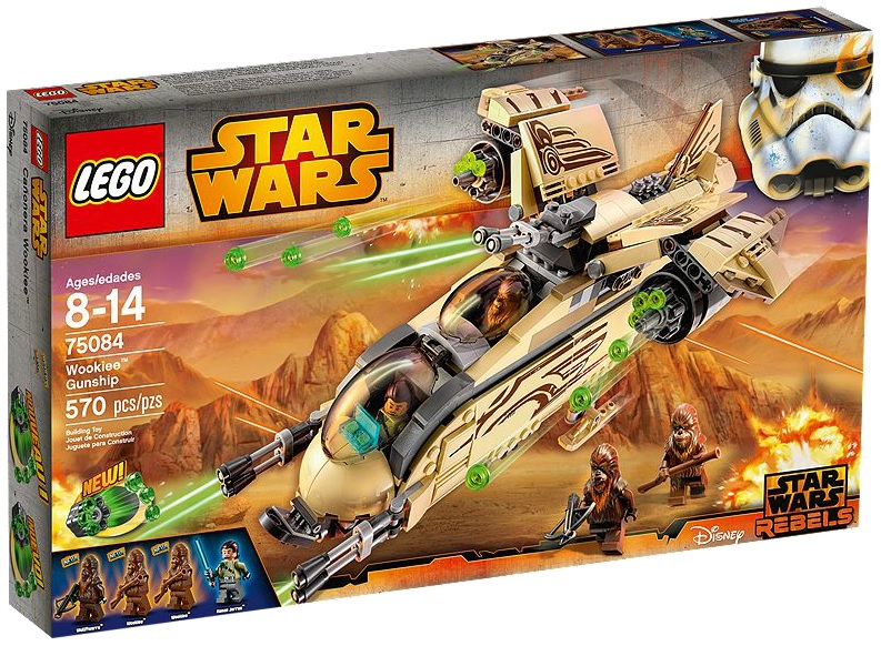 LEGO Star Wars Wookie Gunship 75084 - Toysnbricks