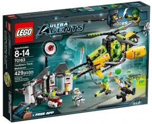 LEGO Ultra Agents Toxikita's Toxic Meltdown 70163 - Toysnbricks