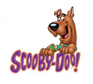 Scooby-Doo Dog Logo Banner