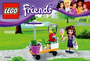 30202 LEGO Friends Smoothie Stand Polybag 2015 - Toysnbricks
